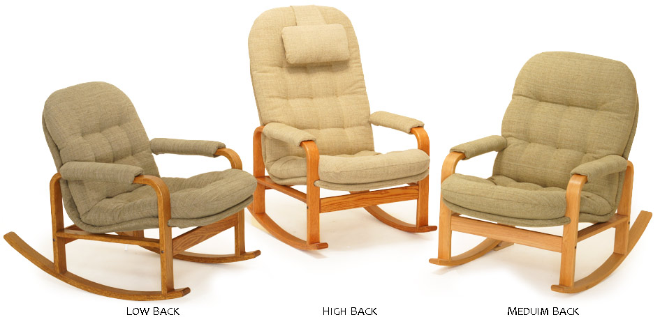 Brigger Rockers Provide Ergonomic Comfort. The Seat Follows The Contour Of  The Body With Soft Support Under The Knees, Adjustable Lumbar Support, ...