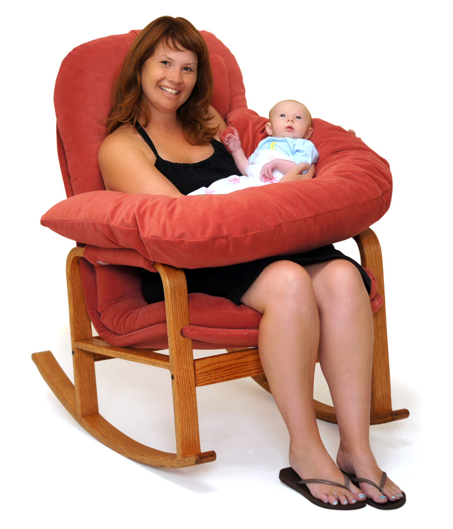 Rocker with Nursing Kit - Brigger Furniture by Klein Design